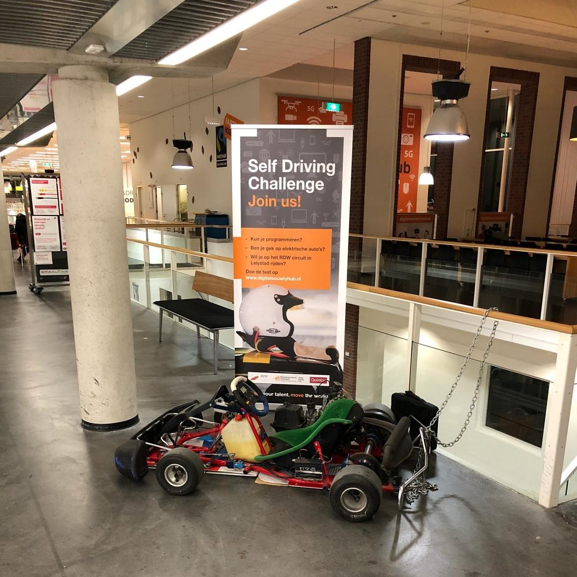 Rdw Self Driving Challenge Nieuwe Stage Uitdaging Digital Society Hub