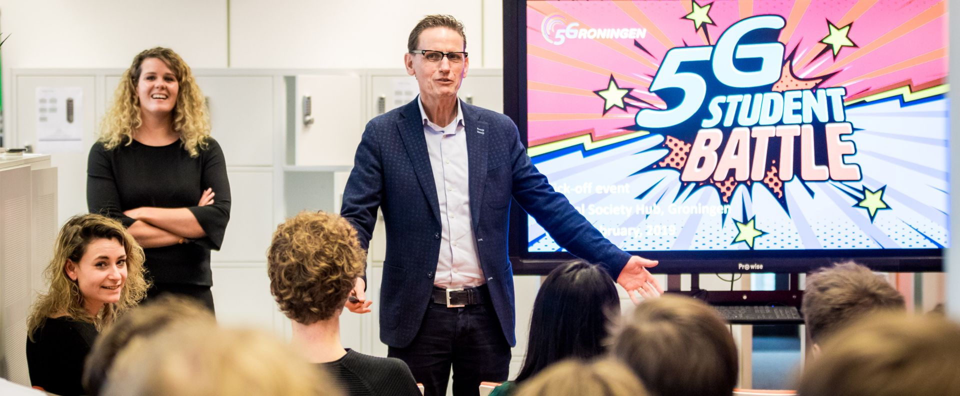 5G Student Battle trapt af met 6 teams mbo-, hbo- en wo-studenten